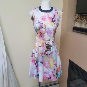 Ted Baker floral pastel dress